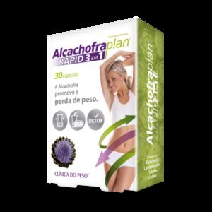 Alcachofra Plan Rapid 3 em 1 -30 cápsulas