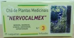 Chá Nervocalmex 25 saquetas